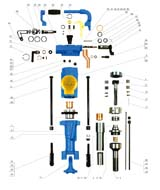 零件明细表及结构图